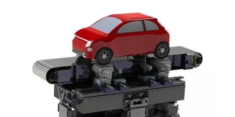 中国汽研汽车风洞采用了MTS系统公司5带天平/转台/移动路面系统