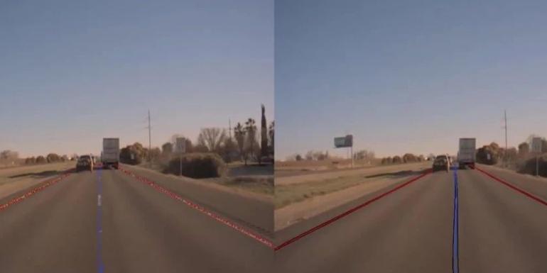 NVIDIA自动驾驶实验室:我们如何训练神经网络预测车道线