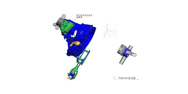 基于有限元技术的发动机悬置支架拓扑优化设计研究