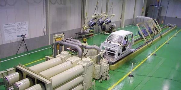 日本三菱MHI加速台车