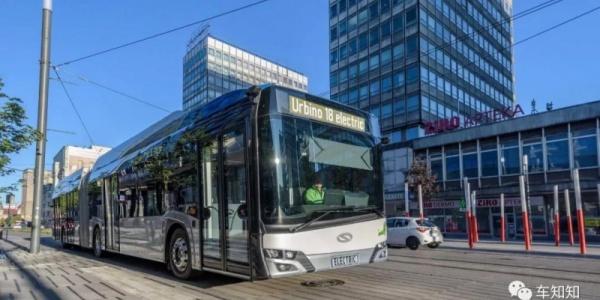Solaris推出电量高达553kWh的纯电动客车