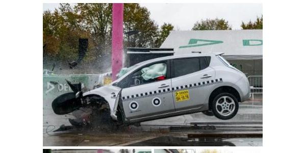 达到EURO NCAP五星标准的电动汽车碰撞测试, 证明了电动汽车与传统动力汽车一样安全